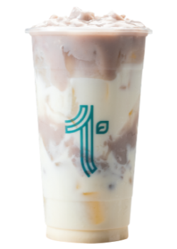 FRESH TARO MILK GREEN TEA