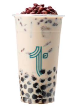 RED BEAN BOBA MILK TEA